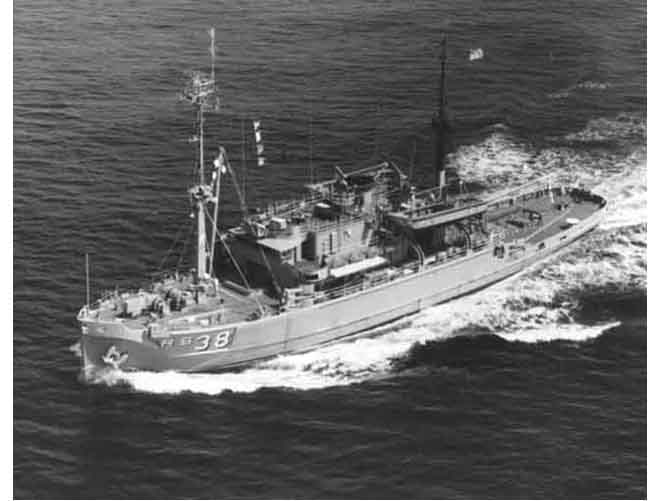 USS Bolster ARS-38
