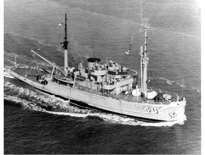 USS Hoist ARS-40