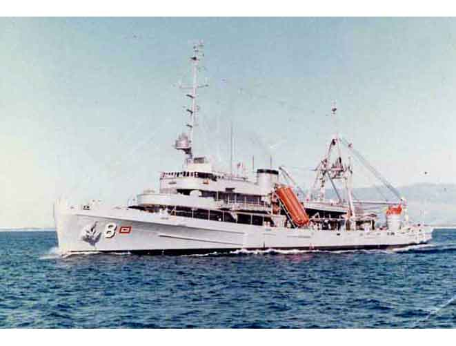 USS Coucal ASR-8
