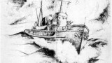 Drawing of ATA177 belonging to Norman Breen Who served on the 177 (Circa WW-II) (Contributed by Grandson Todd Hoffay)