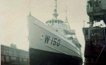 USCGC Avoyel WATF 150  Yard time