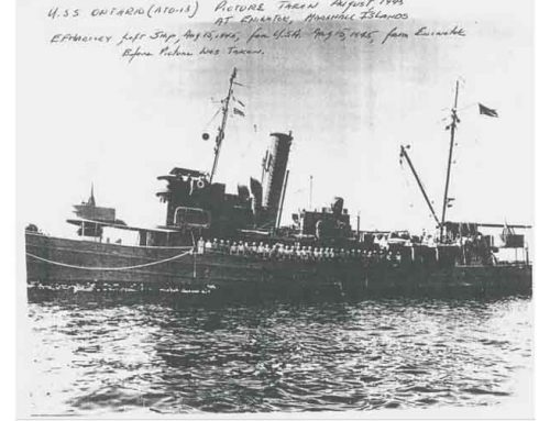 USS Ontario ATO-13 History
