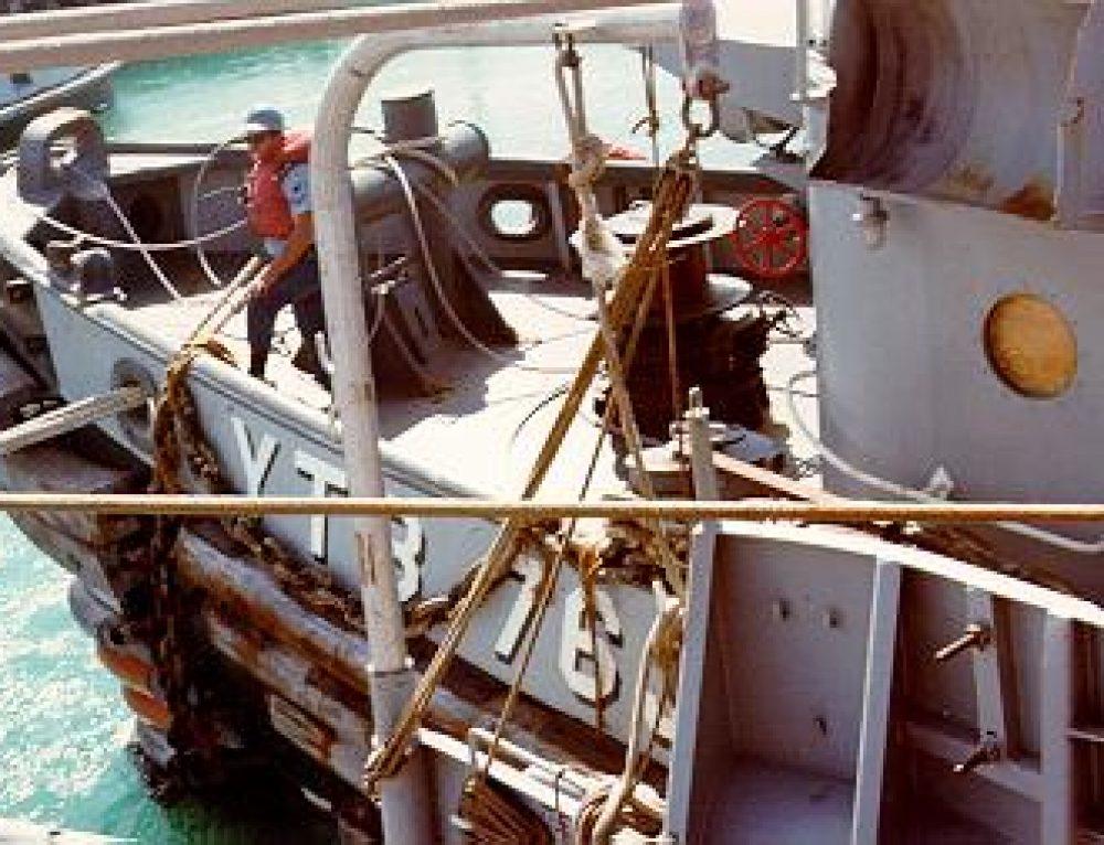 USS Conserver ARS 39 tow job