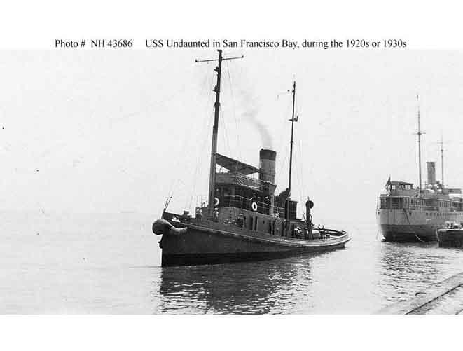 USS Undaunted ATO-58